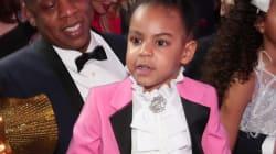 Blue Ivy reçoit le prix de l'enfant le plus mignon pour son hommage à