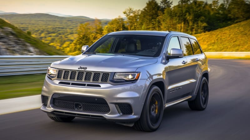 2018 Jeep Grand Cherokee Trackhawk First Drive Crazy Good Autoblog