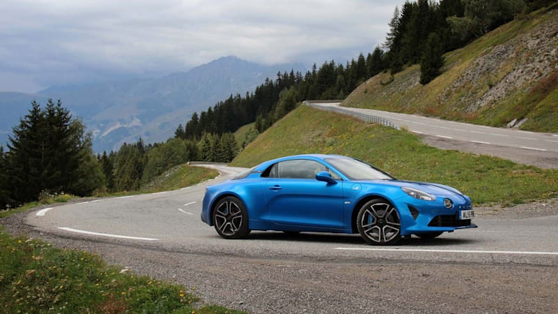 2018 renault alpine a110 road test review autoblog. Black Bedroom Furniture Sets. Home Design Ideas