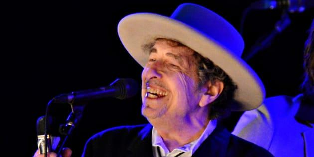 Bob Dylan en 2012.