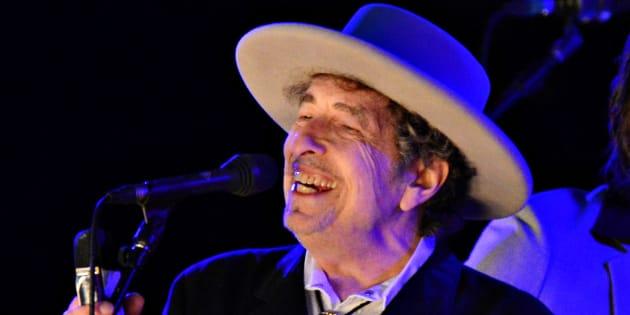 Bob Dylan en juin 2012.