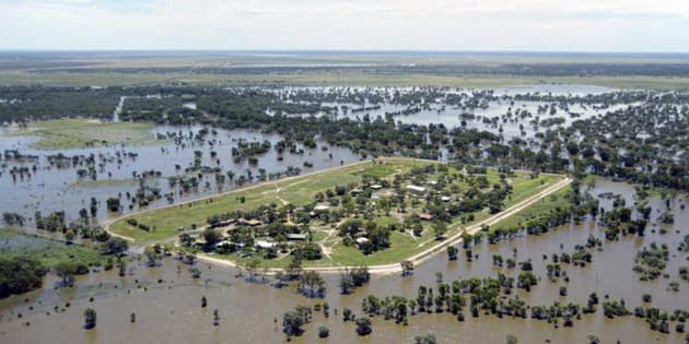 Parts of Western Australia are underwater due to flooding.