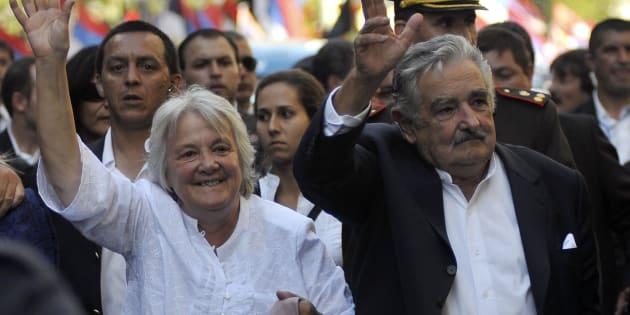 Lucia Topolansky conheceu Mujica quando aderiu ao grupo guerrilheiro MLN-Tupamanos.