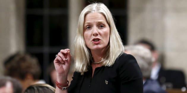 La ministre de l'Environnement du Canada, Catherine McKenna.
