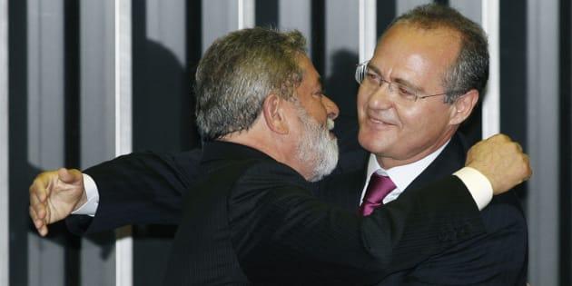 Lula e Renan sempre mantiveram a aliança, a despeito de aparente cisão entre PT e PMDB.
