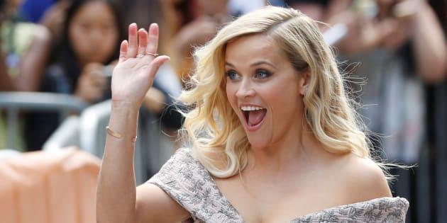 """Reese Witherspoon sur le tapis rouge du Festival international du film de Toronto pour """"Tous en scène"""" (""""Sing""""), le 11 septembre 2016"""