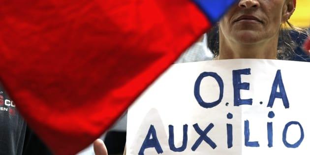 Seis países más se unen a Estados Unidos para sacar a Venezuela de la OEA.