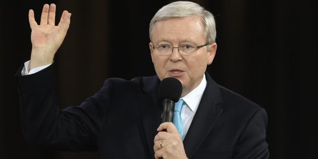 Kevin Rudd wants to be in the U.N. secretary-general