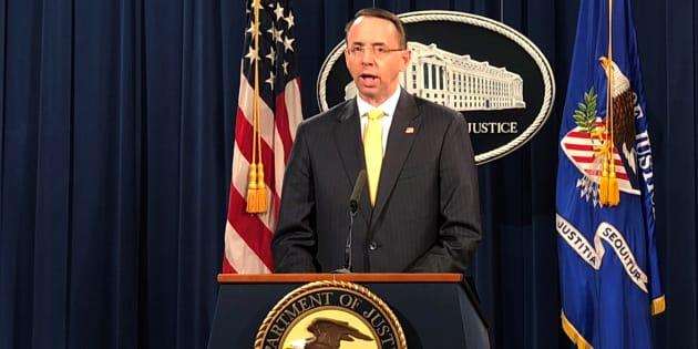 Robert Mueller accuse 13 personnes — Campagne présidentielle