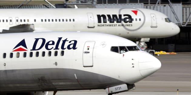Un avion de la compagnie aérienne Delta Air Lines.