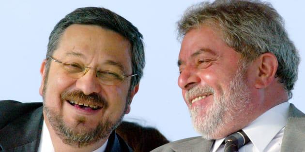 Antônio Palocci foi ministro da Fazenda e um dos homens fortes de Lula no 1º mandato. A foto é de 2005.