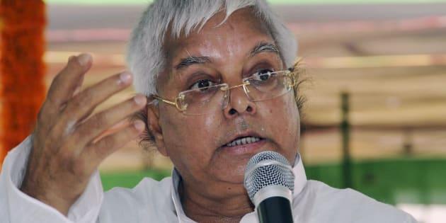 Lalu's Patna Rally a Flop: BJP