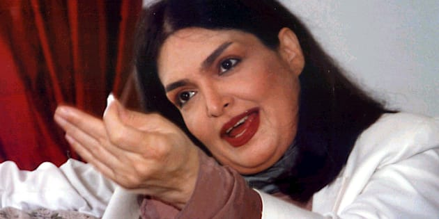 File photo of Bollywood actress Parveen Babi.