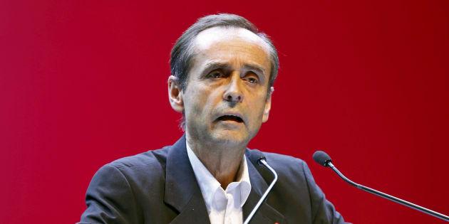 Robert Menard, avec le Front national en 2015 en Paca lors des élections régionales.