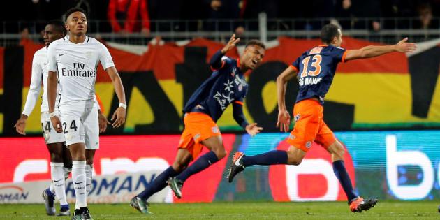 Montpellier a battu le PSG 3-0 en Ligue 1 le 3 décembre 2016