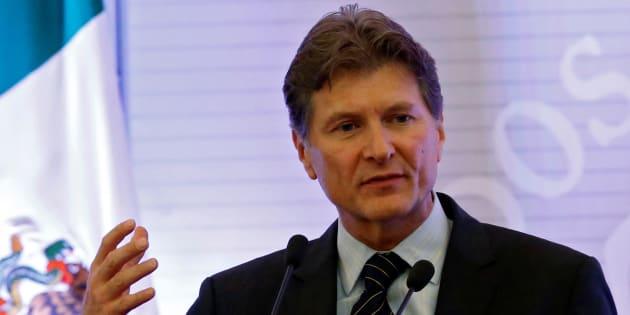 Le ministre mexicain du Tourisme, Enrique de la Madrid.