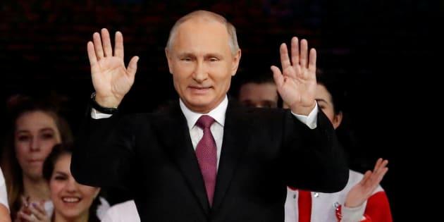 Poutine candidat à la présidentielle pour la quatrième fois — Russie