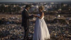 FOTOS: Una boda marca el fin del basurero más grande de