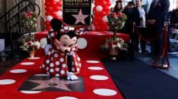 Minnie reçoit une étoile à Hollywood, quelques décennies après