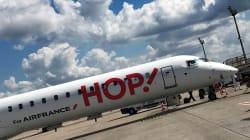 La compagnie aérienne Hop! s'excuse après avoir refoulé une passagère