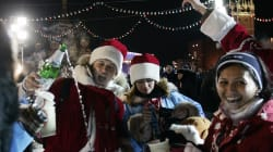 年末年始のモスクワ、人出が多い場所での酒販売を制限 暴力事件などの防止が目的