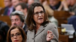 Freeland Demands Professor's Widow Be Allowed To Return To