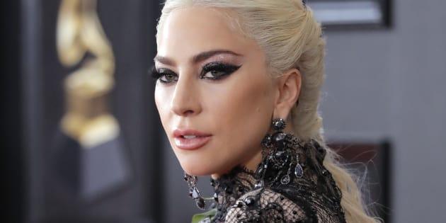 Lady Gaga at the 2018 Grammy Awards.