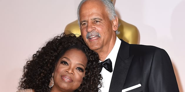 Oprah Winfrey and Stedman Graham arrive at the Academy Awards on Feb. 22, 2015 in Hollywood, Calif.  (Photo by Steve Granitz/WireImage)
