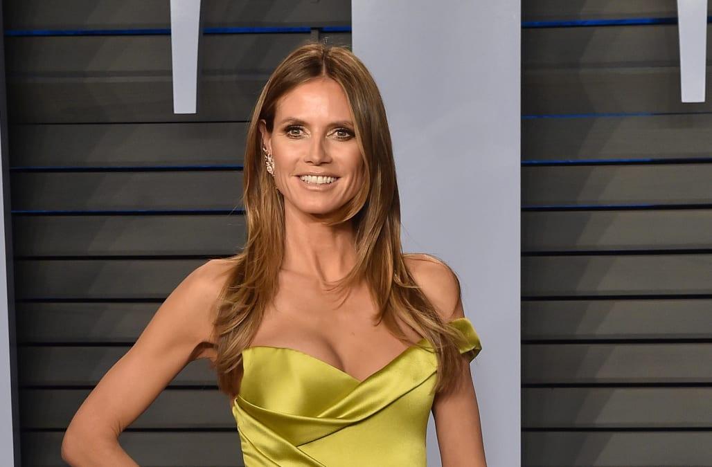 She Said Yes Heidi Klum Is Engaged To Boyfriend Tom Kaulitz Aol