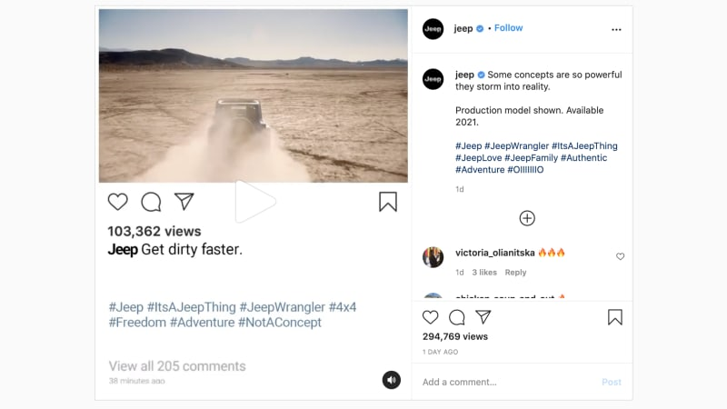 The Jeep Wrangler will get a Hemi V8 engine