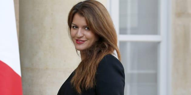 Marlène Schiappa, ici le 17 octobre à l'Élysée, a réagi aux résultats de la consultation lancée par le Cese.