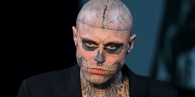 Le mannequin Zombie Boy est décédé à l'âge de 32 ans.