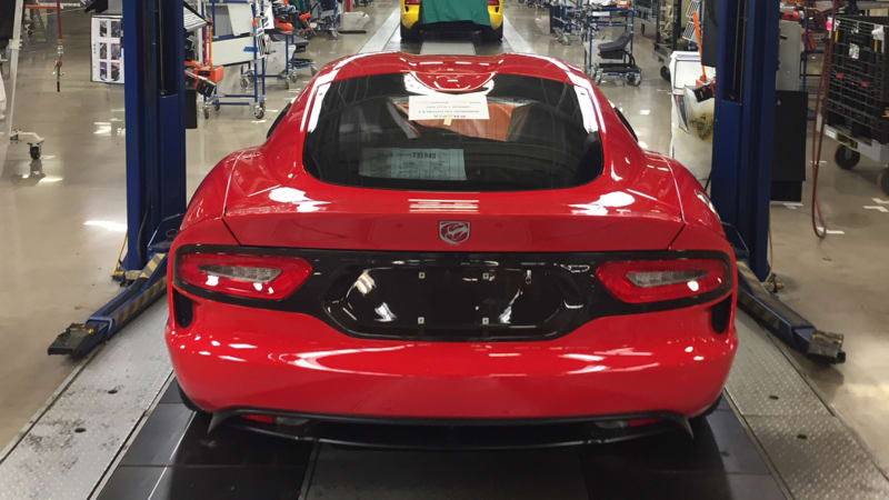 Here S The Last Dodge Viper Autoblog
