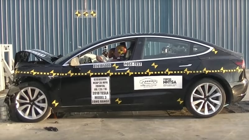 Tesla Inc S Model 3 Sedan Has Been Awarded A Five Star Rating By The U Auto Safety Agency Nhtsa In Tests That Are Standard For Cars United States