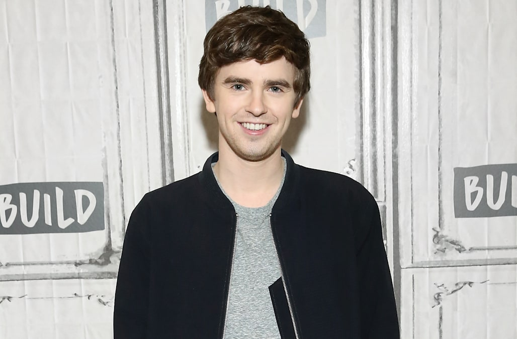 Actor Fredhighmore From Abcs New Breakout Hit Drama Series The Good Doctor Stopped By Build Series Last Week To Dish About His Latest Role As The