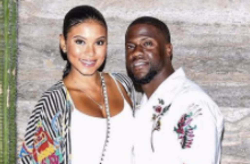 kevin hart and eniko parrish enjoy a couples vacation in