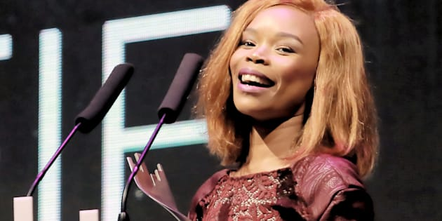 Fifi Cooper during the 16th annual Metro FM Music Awards held at the Inkosi Luthuli Convention Centre in Durban.