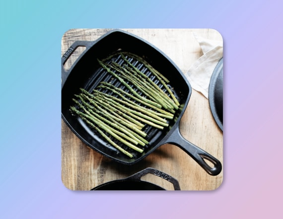 This Lodge cast iron grill pan is on sale for $20