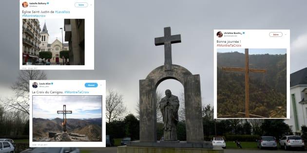 Quelques responsables politiques rejoignent le mouvement #MontreTaCroix.