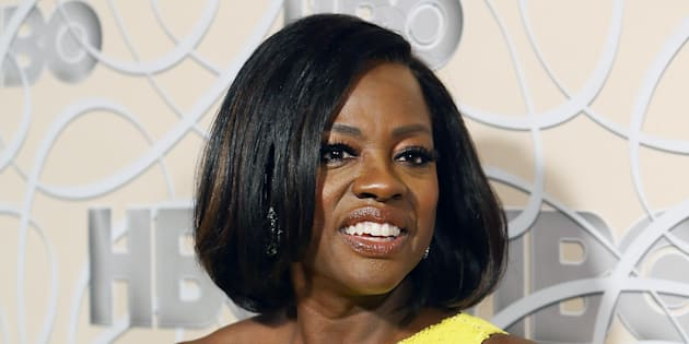 Viola Davis arrives at HBO's Official Golden Globe Awards after party held at Circa 55 Restaurant on January 8, 2017 in Los Angeles, California.