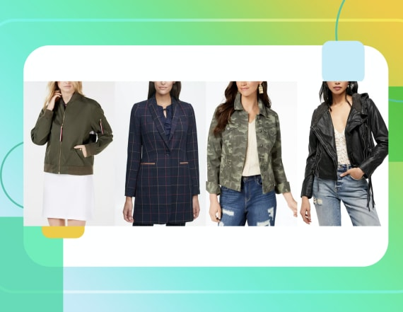 7 jackets on sale for as low as $24 at Macy's