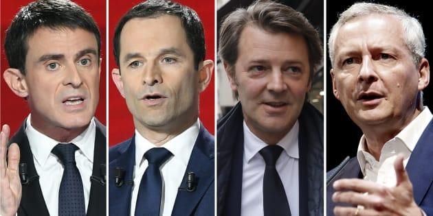 Face à Macron, le PS et Les Républicains écartelés entre trois stratégies concurrentes