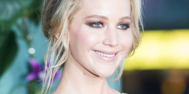"""Jennifer Lawrence à la première de """"Mother!"""" à l'Odeon Leicester Square à Londres le 6 septembre 2017."""