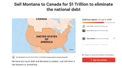 There's A Petition To Sell Montana To Canada For $1