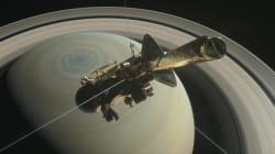 FOTOS: La sonda Cassini se autodestruye en la atmósfera de