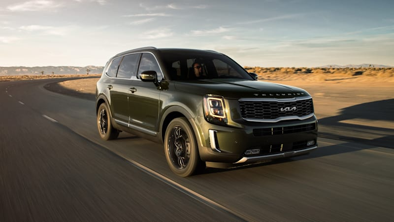 2022 Kia Telluride receives the new corporate face and more equipment