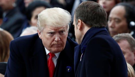 Comment le week-end compliqué de Trump à Paris a tourné à la brouille personnelle avec