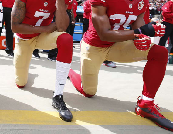 Takeaways from the NFL's 'kneeling' summit