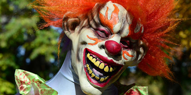 Creepy Carnival Clown