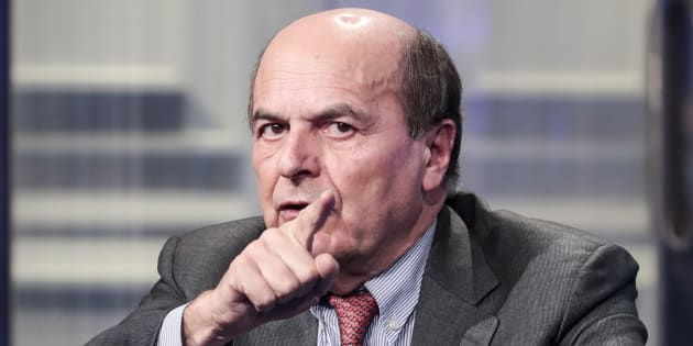 Nella foto Pierluigi Bersani